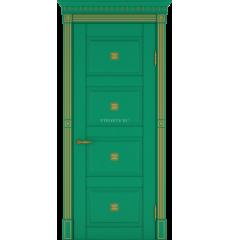 Дверь деревянная межкомнатная Грин массив бука