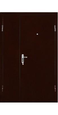 Дверь металлическая КВАРТЕТ DL медь антик/итальянский орех