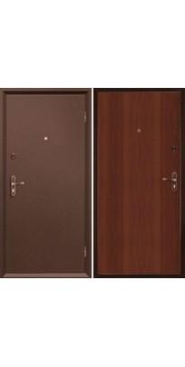 Дверь металлическая МАСТЕР 2 ит. орех