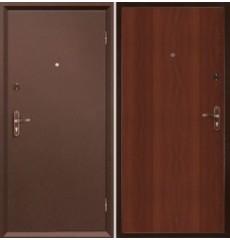 Дверь металлическая МАСТЕР 2 медь антик/итальянский орех