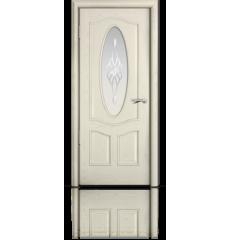 Дверь деревянная межкомнатная БАРСЕЛОНА ясень жемчуг
