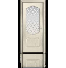 Дверь деревянная межкомнатная МИЛАН ясень жемчуг