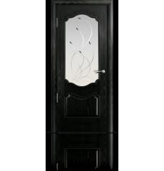 Дверь деревянная межкомнатная МИЛАН ясень винтаж