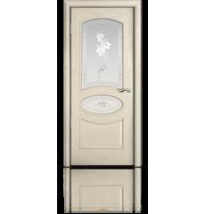 Дверь деревянная межкомнатная РИМ ясень жемчуг