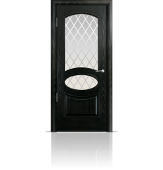 Дверь деревянная межкомнатная РИМ ясень винтаж