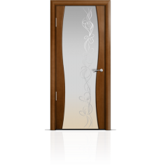 Дверь деревянная межкомнатная ОМЕГА 1 палисандр