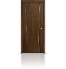 Дверь деревянная межкомнатная ОМЕГА 1 американский орех