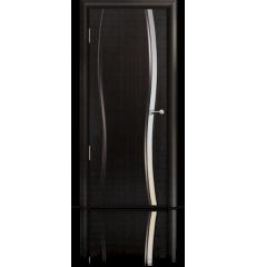 Дверь деревянная межкомнатная ОМЕГА 1 ясень винтаж