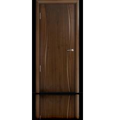 Дверь деревянная межкомнатная ОМЕГА американский орех