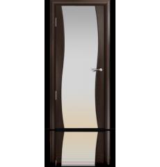 Дверь деревянная межкомнатная ОМЕГА венге