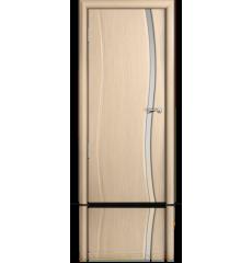 Дверь деревянная межкомнатная ОМЕГА белёный дуб
