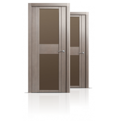 Дверь деревянная межкомнатная QDO D дуб грейвуд