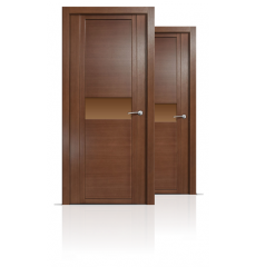 Дверь деревянная межкомнатная QDO H дуб палисандр