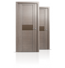 Дверь деревянная межкомнатная QDO H дуб грейвуд