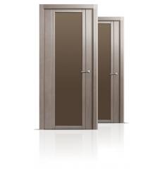 Дверь деревянная межкомнатная QDO X дуб грейвуд