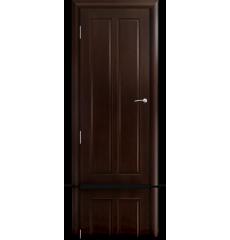 Дверь деревянная межкомнатная ДИАНА тёмный орех