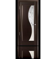Дверь деревянная межкомнатная ЭЛИЗА венге
