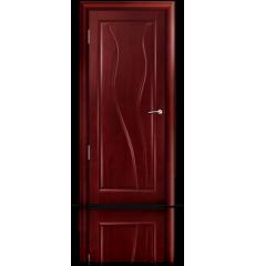 Дверь деревянная межкомнатная ИРЕН красное дерево