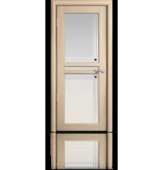 Дверь деревянная межкомнатная НАТЕЛЬ дуб белёный