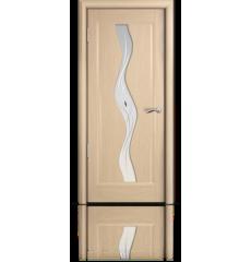 Дверь деревянная межкомнатная ВЕСТА белёный дуб