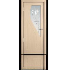 Дверь деревянная межкомнатная ЯНА дуб белёный