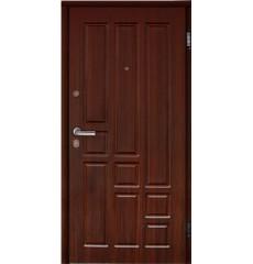 Дверь входная металлическая ТИТАН тёмный орех