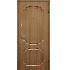 Дверь входная металлическая ЮНОНА дуб натуральный
